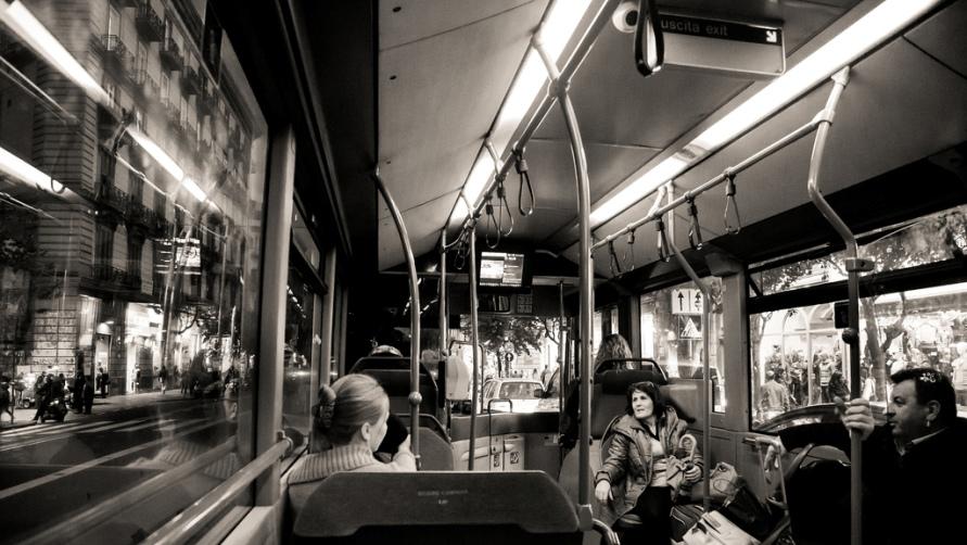 Городской транспорт.