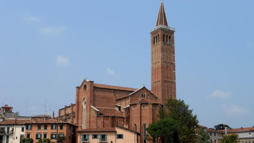 Башня церкви.