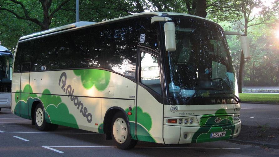 Итальянский автобус