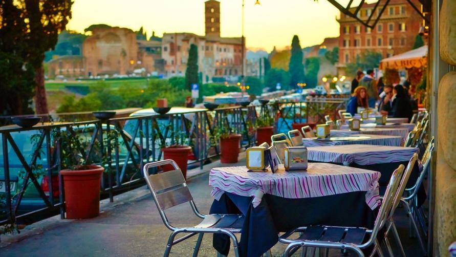 Кафешки Италии.
