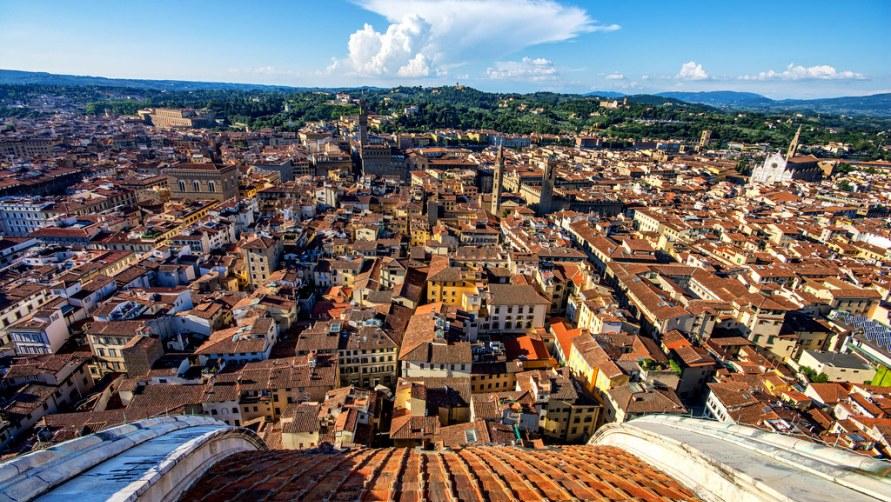 Вид на город с купола