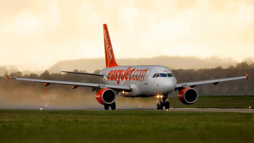 Оранжевый самолет.
