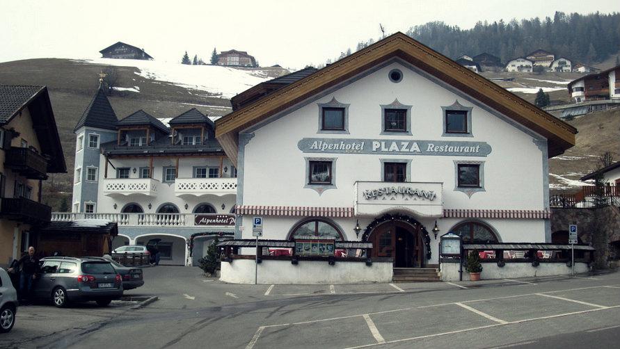 Четырёхзвёздочная гостиница Alpenhotel Plaza — 4 звезды Alpenhotel Plaza в Santa Cristina Valgardena.
