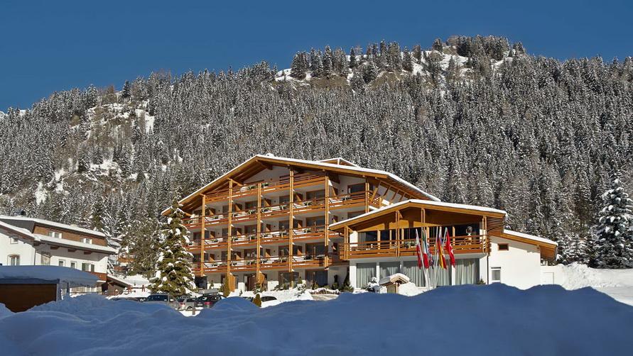 Четырёхзвёздочная гостиница ArtHotel Anterleghes в Selva di Val Gardena.