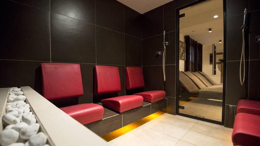 Современная баня.