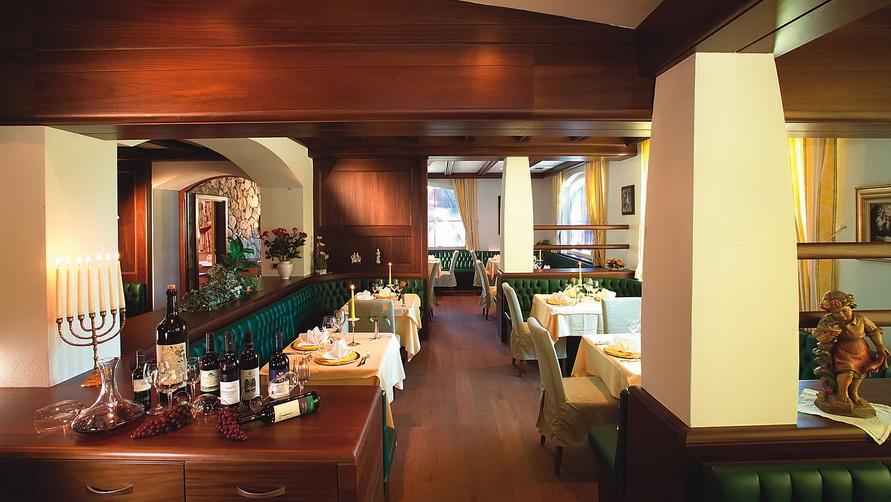Роскошный ресторан.