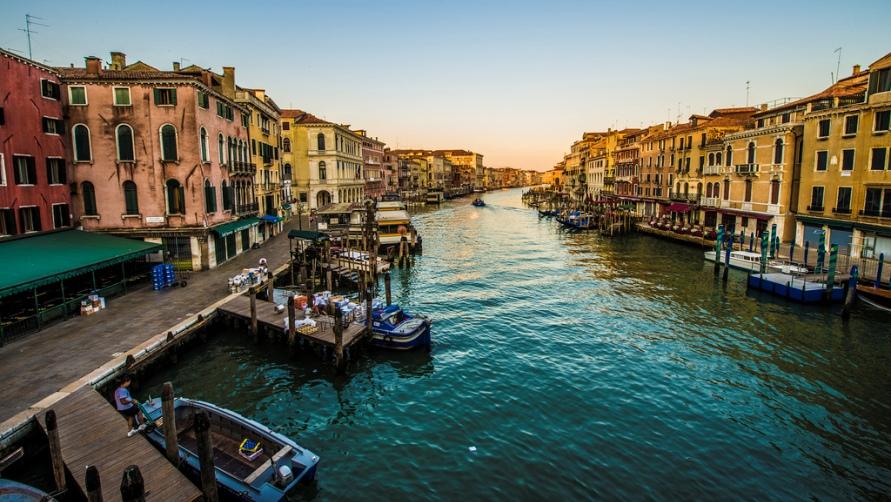 Отдыхаем в Венеции.