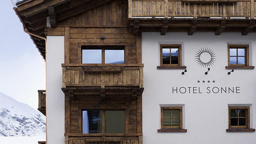 Четырёхзвёздочная гостиница Sonne в Ливиньо.