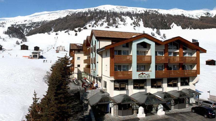 Четырёхзвёздочная гостиница Lac Salin Spa & Mountain Resort 4* в Ливиньо.