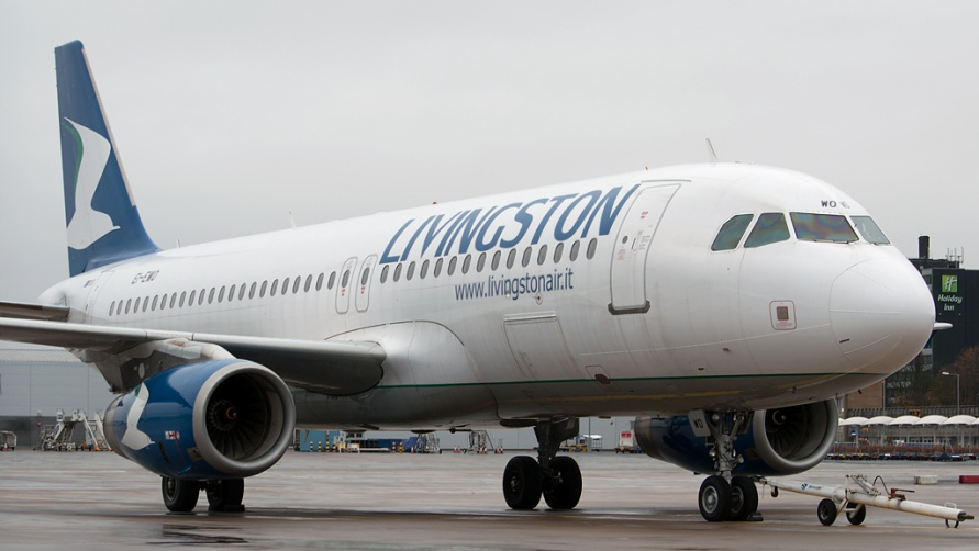 Самолет Ливингстон.