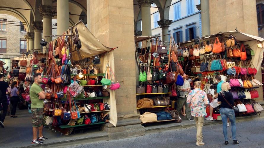Уличный базар.