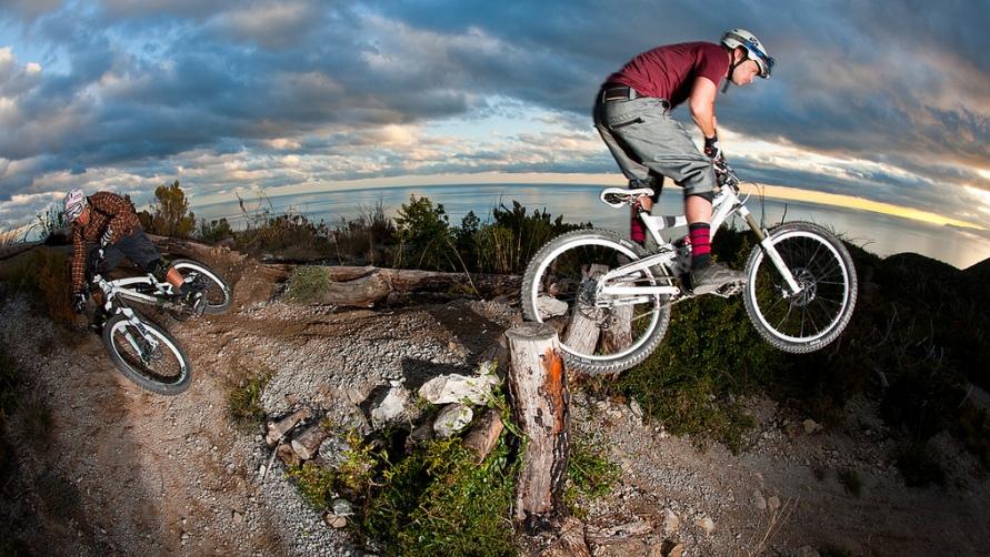 Велоспорт.