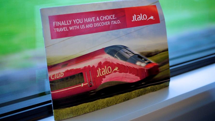 Карточка в поезде