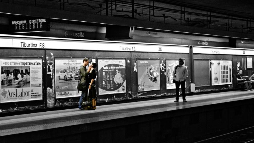 Станция местро Tiburtina