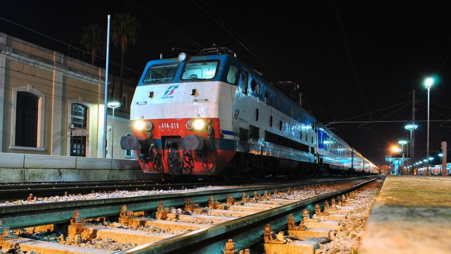 Вечерний поезд