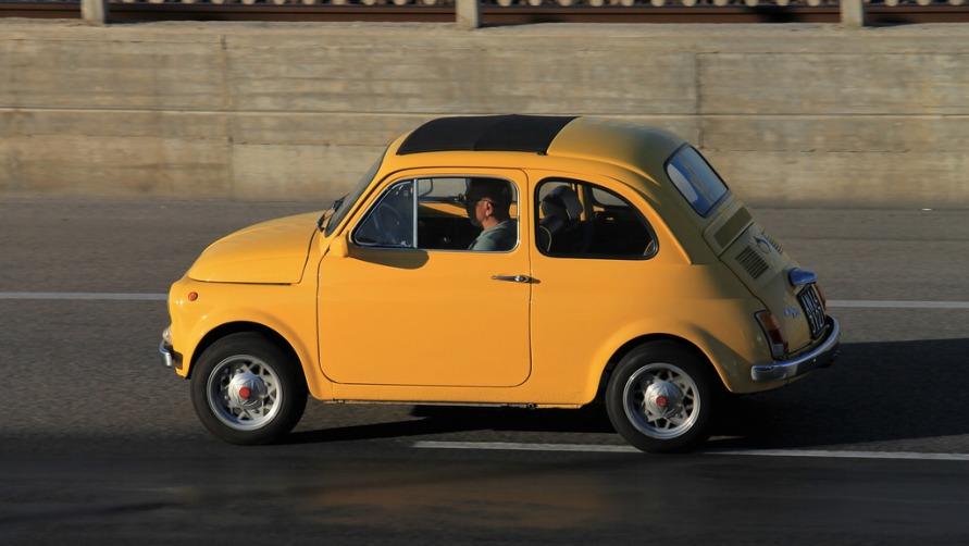 Желтый Форд