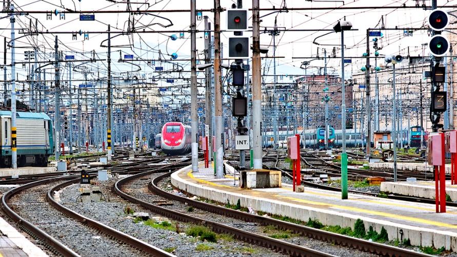 Железнодорожная развязка