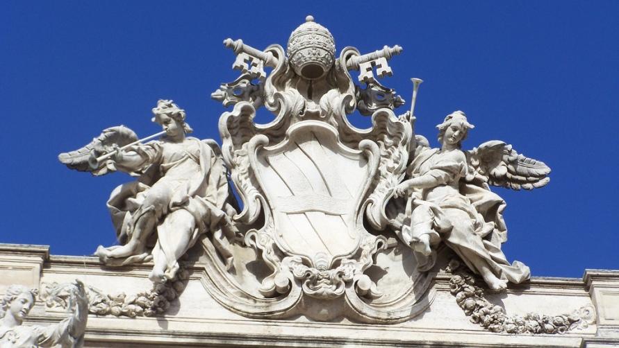 Верхние скульптуры