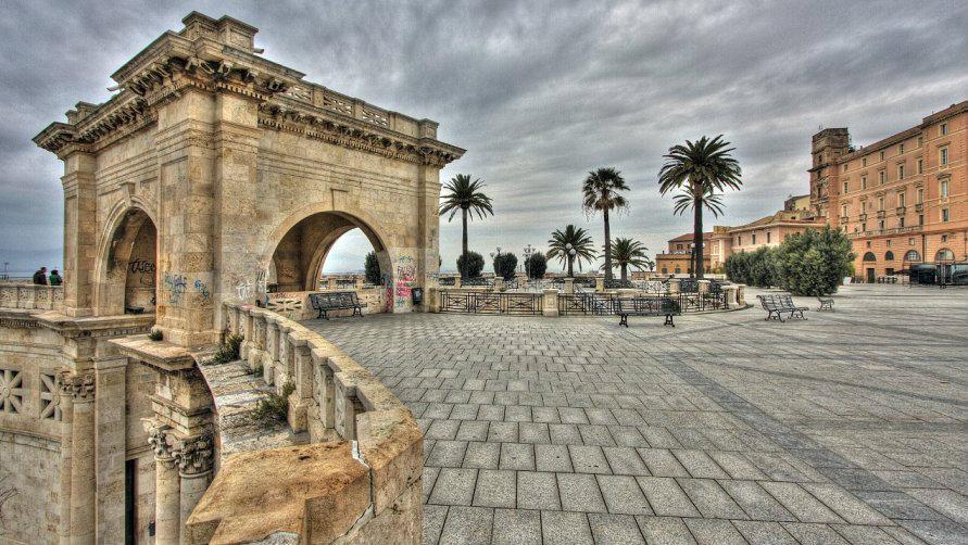 Крепость Кальяри
