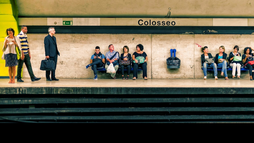 Станция «Colosseo»
