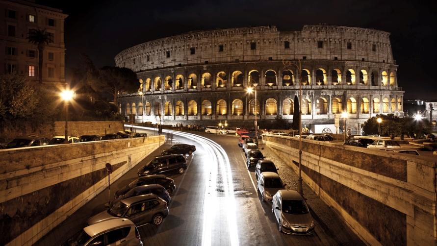 Ночь в Риме
