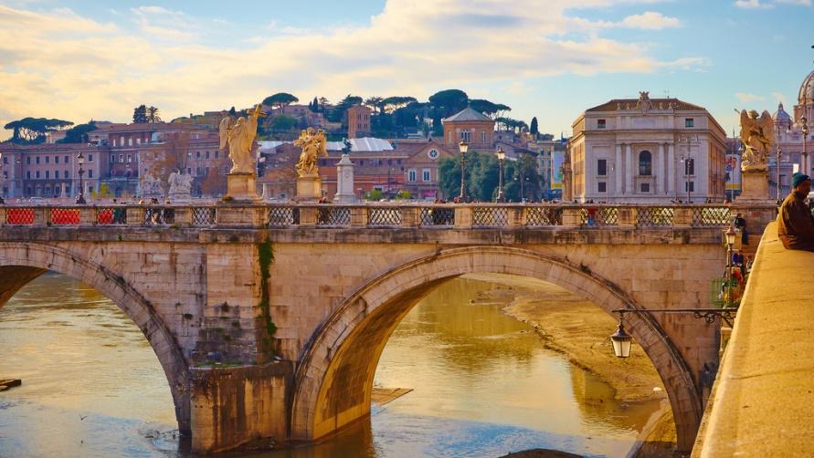 Утро в Риме
