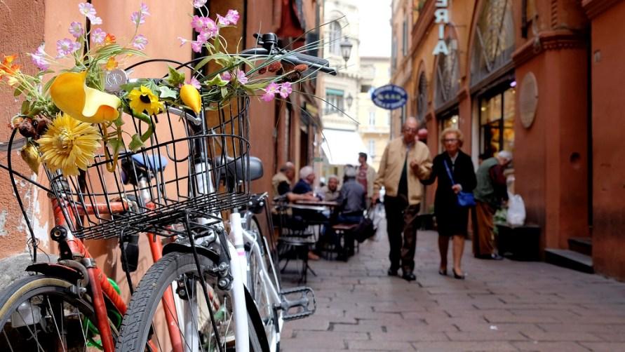 Велосипеды с цветами