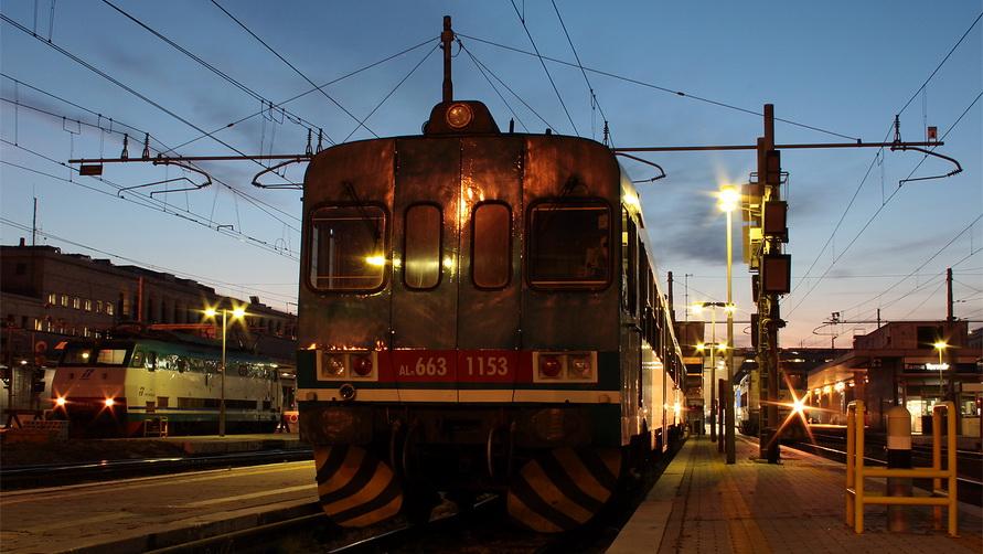 Вокзал Термини был построен во времена фашистской Италии.
