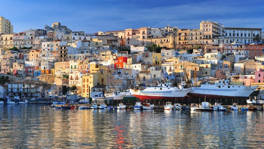 Домики в Сицилии