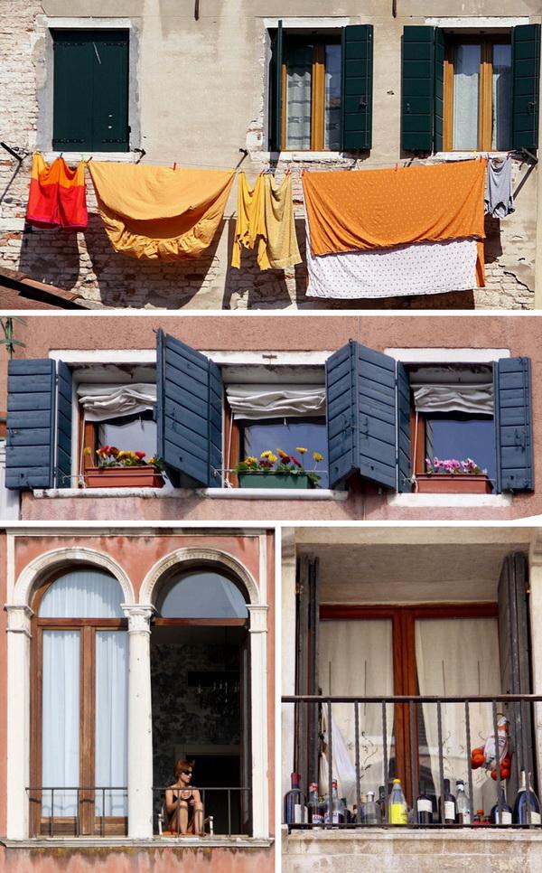 Окна Венеции.