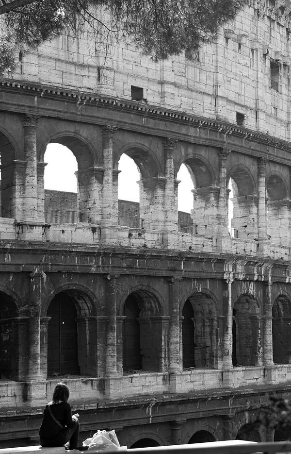Я всегда мечтала посетить Колизей.