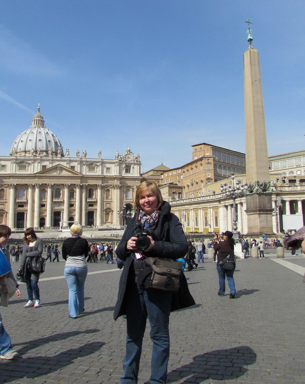 В самом сердце Ватикана.
