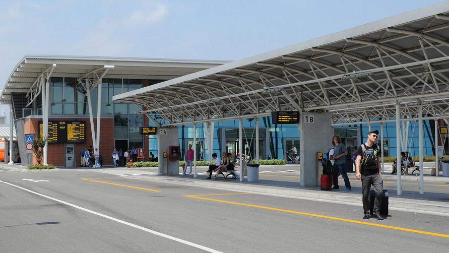 Автовокзал в Лидо ди Езоло.