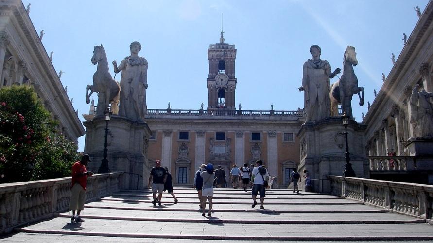 Капитолийский холм в Риме, Капитолий Рима: фото, описание