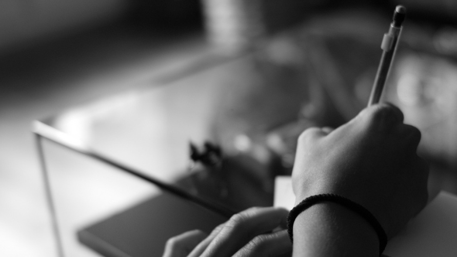 Пишем от руки