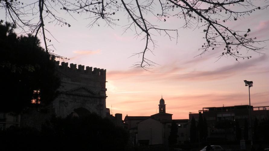 Римини на закате
