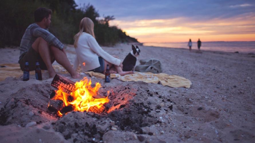 Посиделки на пляже