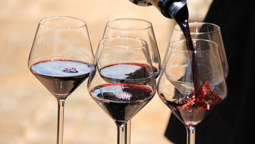 Дегустация красного вина