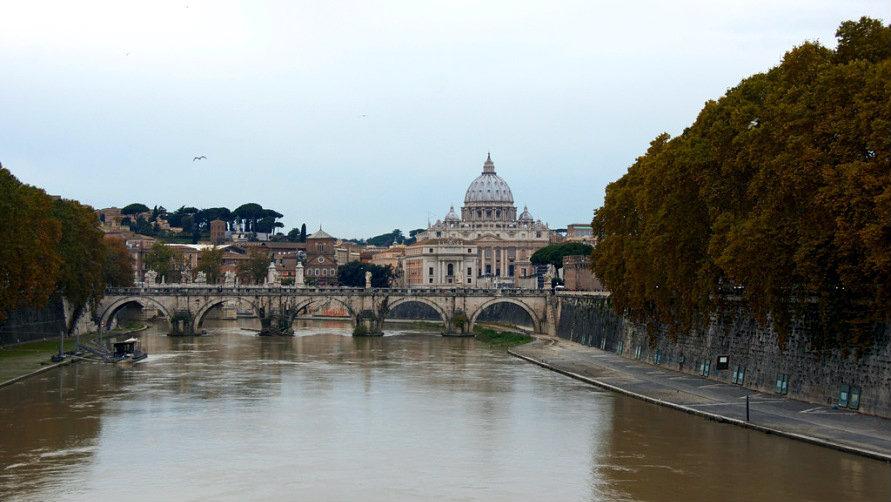 Рим в ноябре