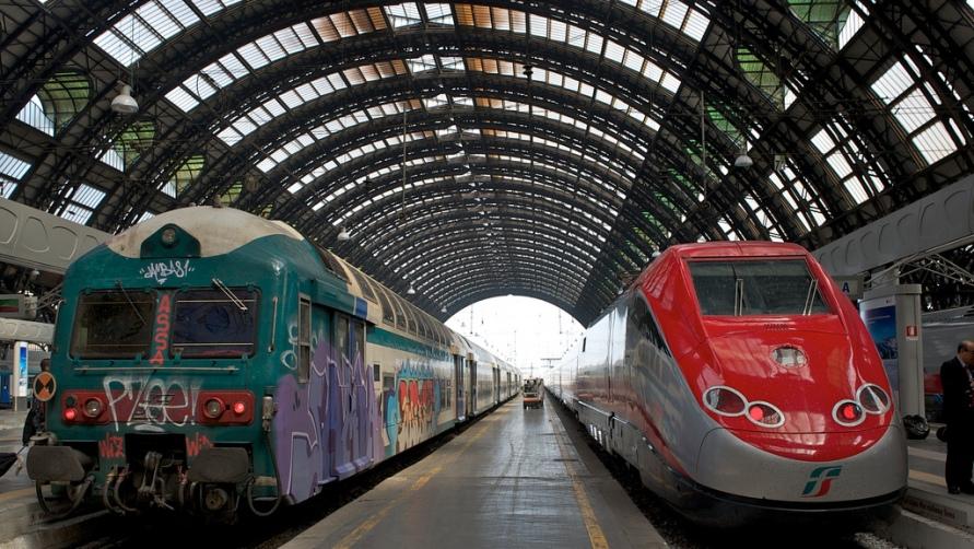 Поезда  Trenitalia