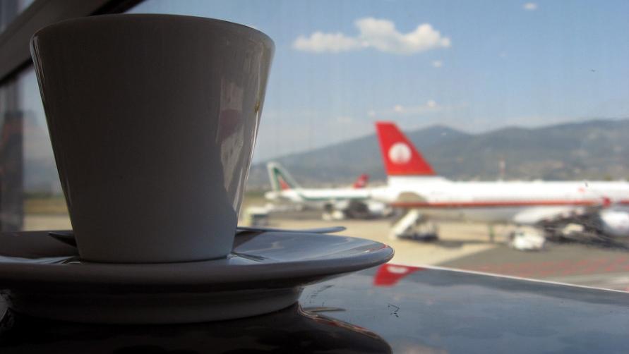 Кофе в аэропорту