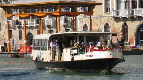 Путешествие по Венеции на вапоретто