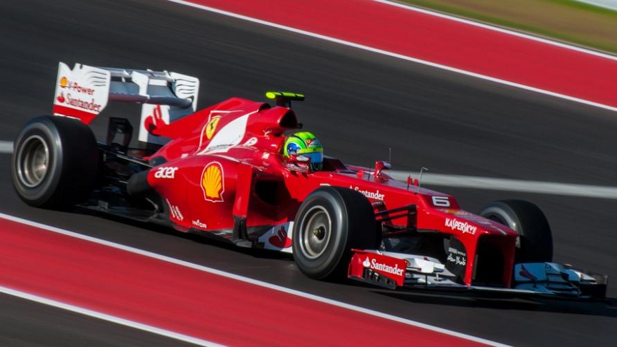 Трансляция Формулы 1.