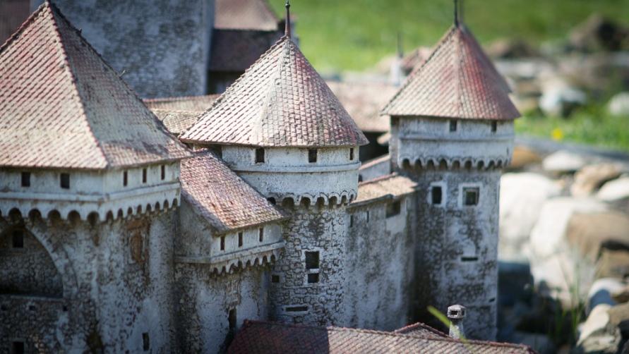 Крепость вблизи.