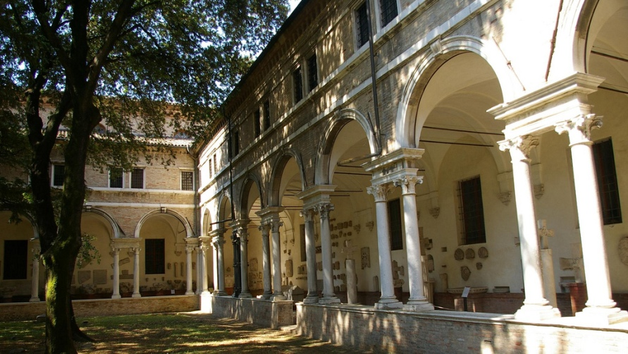 Веранда базилики