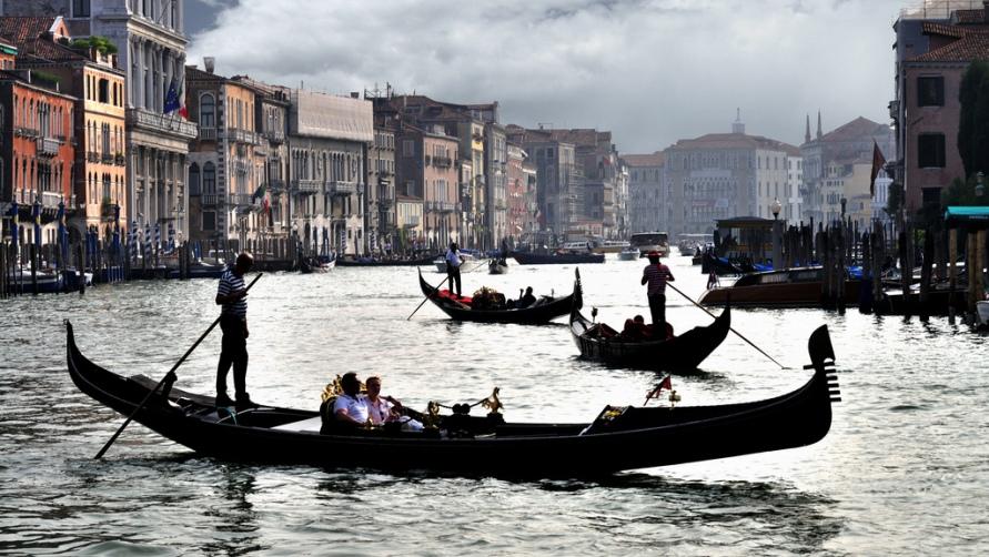 Сумерки в Венеции.