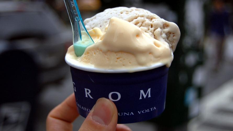 Римское мороженое.