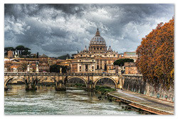 Обзорная экскурсия по Риму.