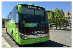 Билеты на итальянские автобусы.