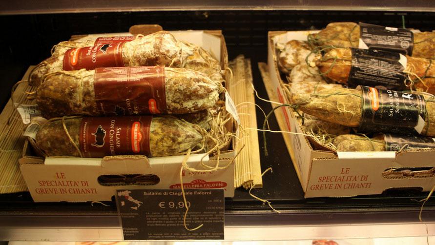 Мясные деликатесы из Италии.
